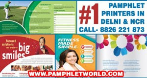 #1 Pamphlet Printer Delhi
