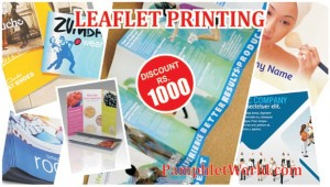 Leaflet Printing Offer - PamphletWorld