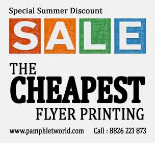 Printing discount - PamphletWorld