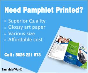 Need Pamphlet Printed?