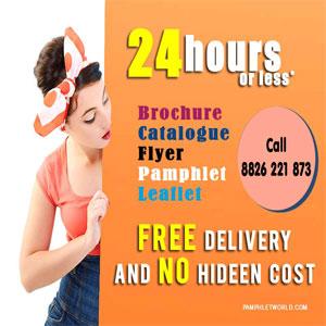 Best Pamphlet Printer in Gurgaon, Noida & Delhi Call 8826-221-873