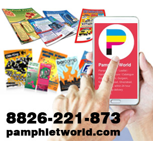 Finding colorful Pamphlet printer near you? Call 8826-221-873