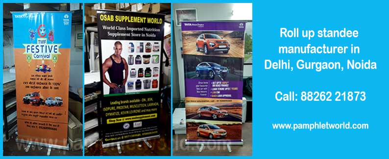 Standee printing in Delhi, Gurugram, Noida | Call 8826-221-873