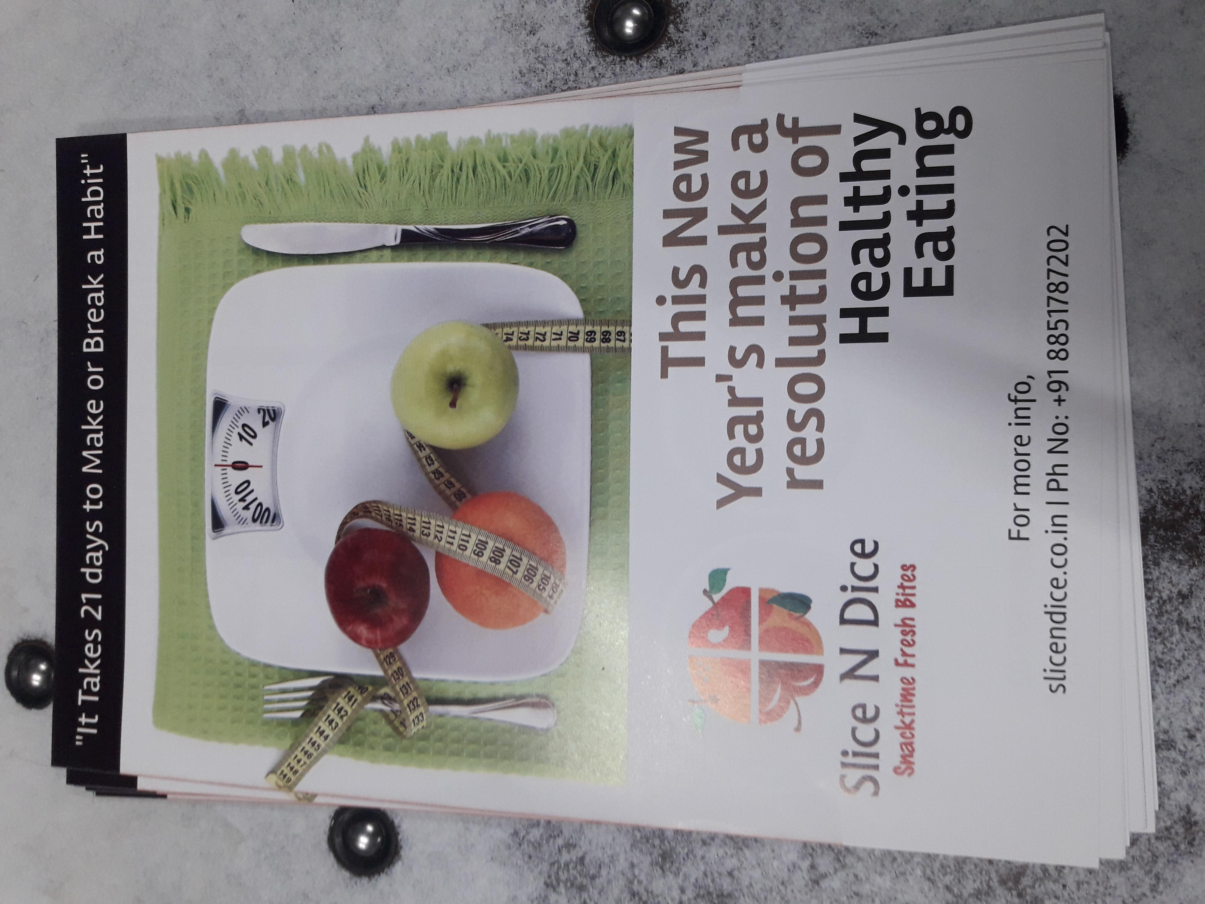 Food & beverages Flyer
