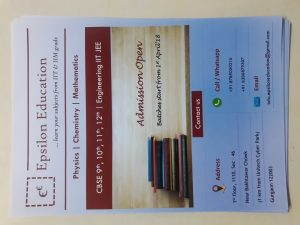 A5 size Educational Flyer
