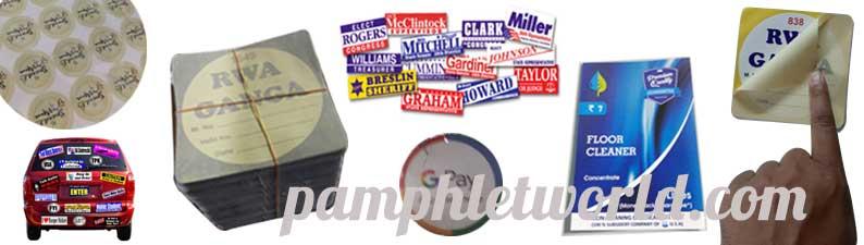 Sticker Printing In Delhi, Gurugram, Noida : Call 88262 21873
