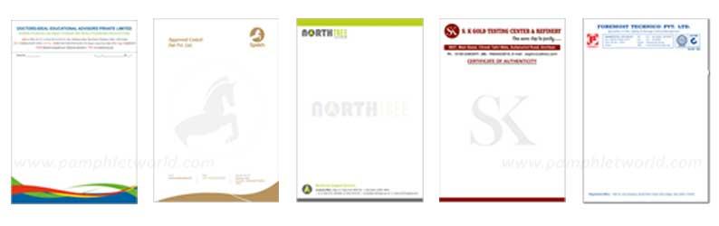 Letterhead printing in Delhi, Gurugram, Noida, Ghaziabad, Faridabad | Contact us 88262 21873.