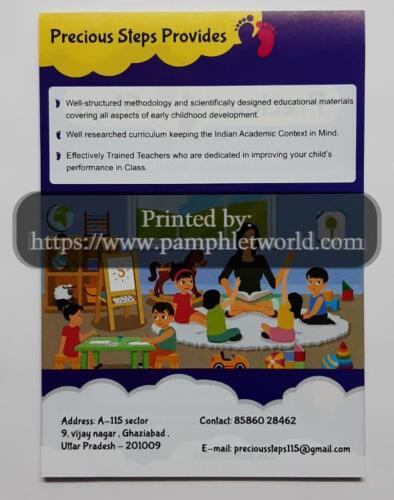 pre-school-flyer-PamphletWorld